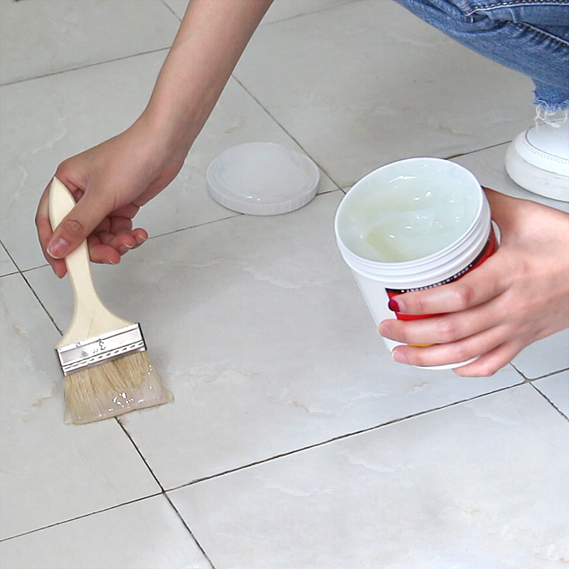 外墙瓷砖透明防水胶补漏剂卫生间免砸砖堵漏王堵裂缝材料防水涂料