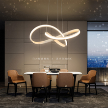 Nordic chandelier art restaurant light bar creative personality postmodern minimalist style living room bedroom dining room lighting