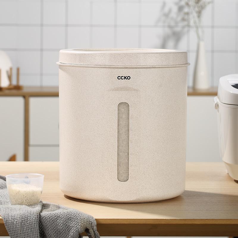 德国ccko装米桶防虫防潮全密封家用面粉存储罐10收纳20斤米箱米缸