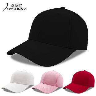 帽子男春夏天 鸭舌嘻哈帽百搭黑