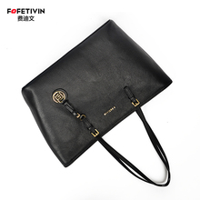 Fedivin 2019MK Large Capacity Todd Bag, Fiber Leather Single Shoulder Handbag, TOTE Todd Commuter Bag