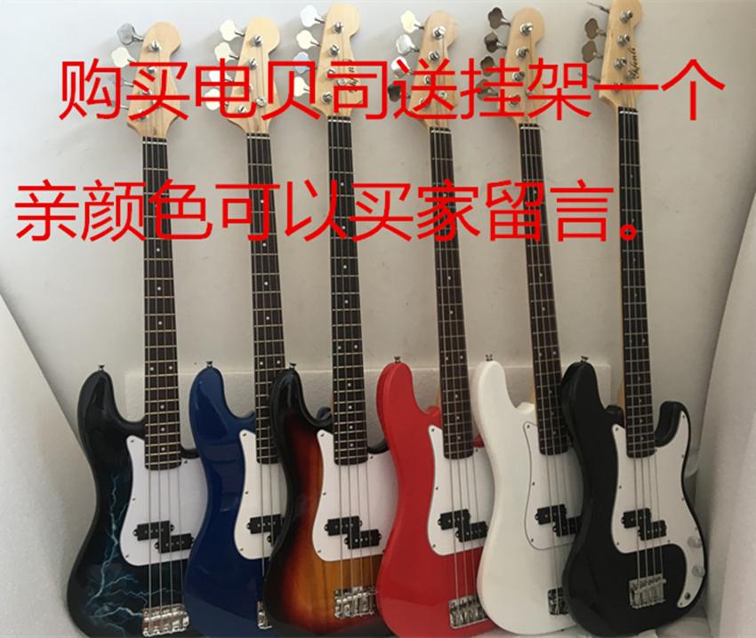 bass电贝斯套餐/电贝司套装/初学者/四弦电贝司/ P贝斯/工厂直销