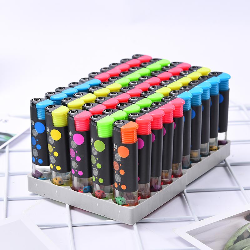 50支个性电子可充气塑料防风打火机一次性广告家用打火机定制印字