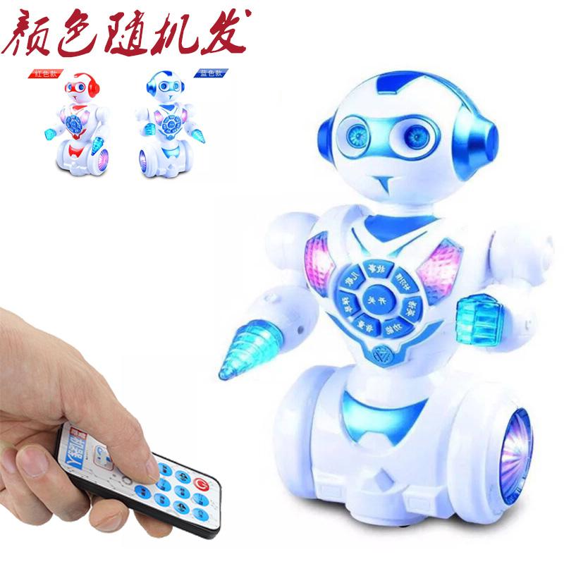 可充电 会走路唱歌跳舞讲故事机 超大早教学英语智能机器人玩具