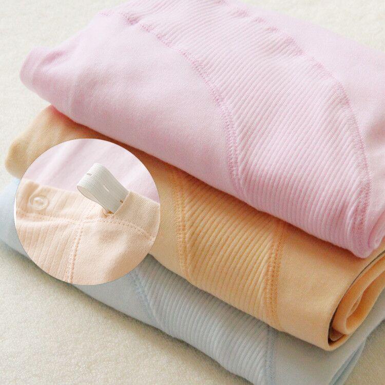 秋冬季孕妇秋裤纯棉托腹 单件哺乳衣托腹裤线裤全棉月子服 可调节