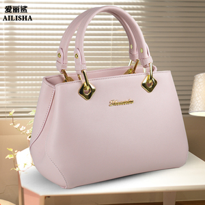 Women's bag 2019 spring and summer new fashion Korean version of the tide single shoulder diagonal cross portable simple temperament wild solid color leisure bag