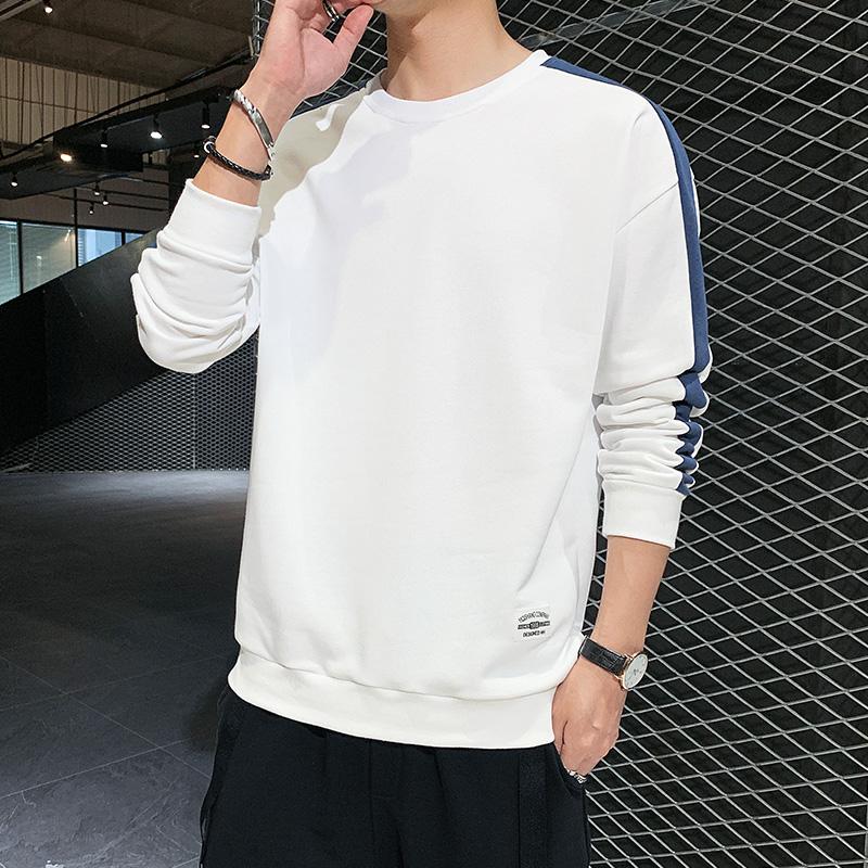 卫衣男士圆领2020秋季新款韩版潮流上衣休闲宽松长袖t恤男装衣服