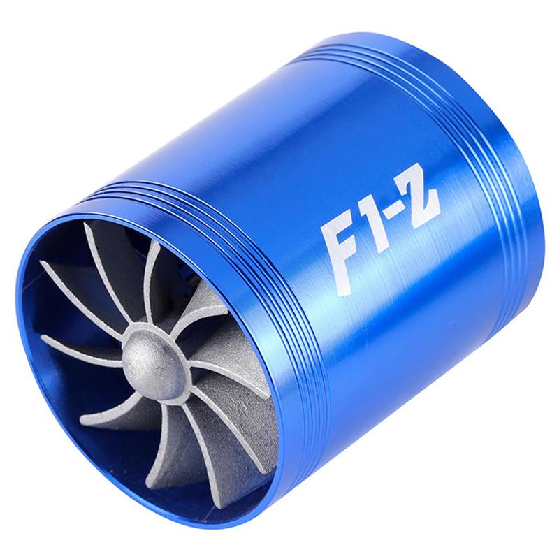 汽车用机械加装双面涡轮增压器动力改装通用型进气系统省油节油器