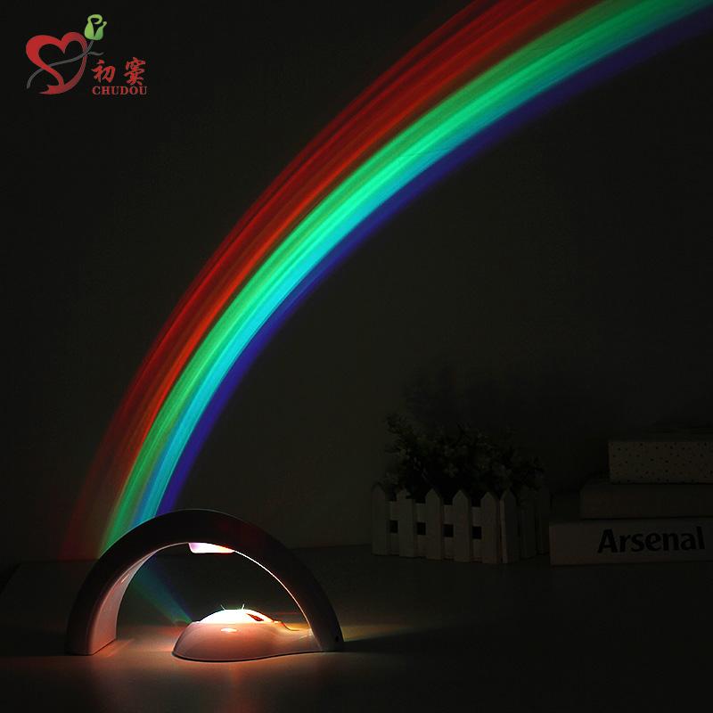 彩虹灯送女友男友同学18岁生日礼物女生闺蜜浪漫创意实用特别新奇