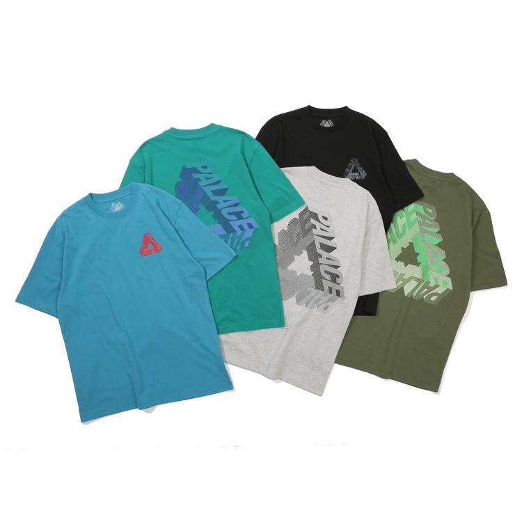 現貨 潮玩藝 PALACE  P-3D T-SHIRT 3D三角LOGO印花短袖T恤