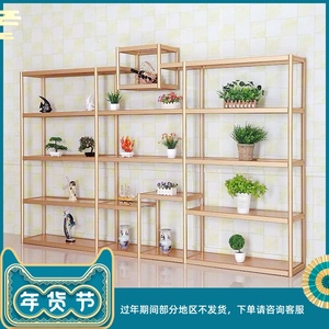 Shop display rack shoe store shoe rack shoe rack bag bag rack multilayer floor florist flower rack mall Nakajima