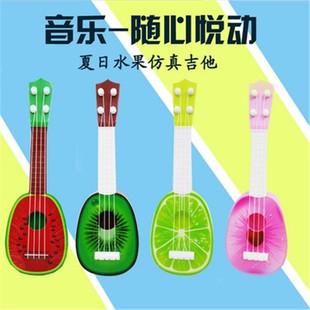 创意儿童水果吉他玩具尤克里里乐器