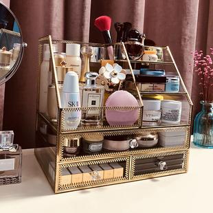 玻璃化妆品 欧式宫庭抽屉式护肤