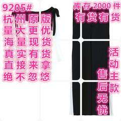 2018夏季新款时尚阔腿裤雪纺套装女俏皮洋气网红女神范两件套春装