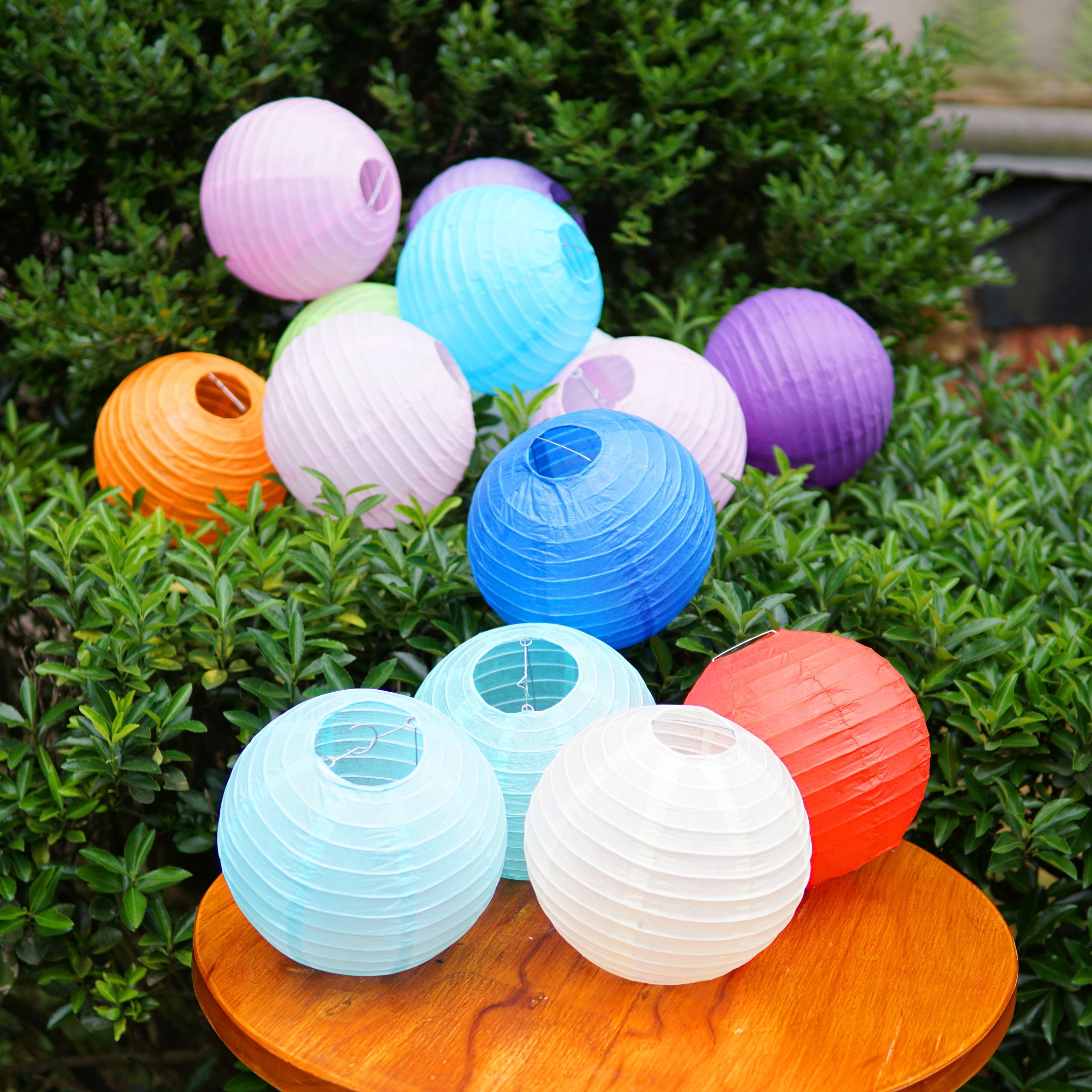 中秋节儿童diy纸手工灯笼制作发光材料led灯电子小灯珠灯泡灯芯