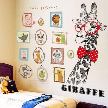 墙壁纸自粘墙贴卧室温馨北欧ins装饰品墙面贴纸宿舍墙上贴画海报
