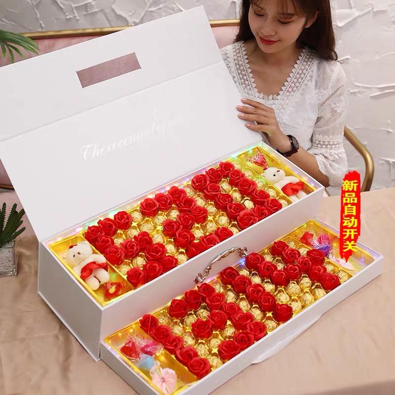 520生日礼物女实用高档浪漫惊喜异地恋送老婆媳妇女友创意情人节