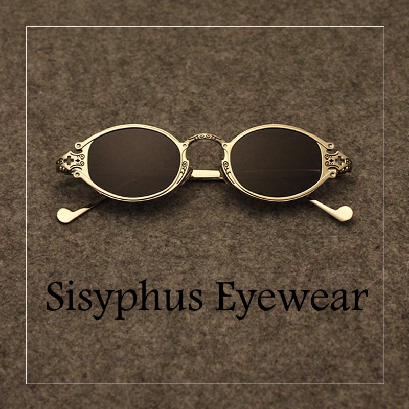 全金属雕花复古古典华贵小墨镜太阳眼镜男女潮个性摇滚风朋克新款