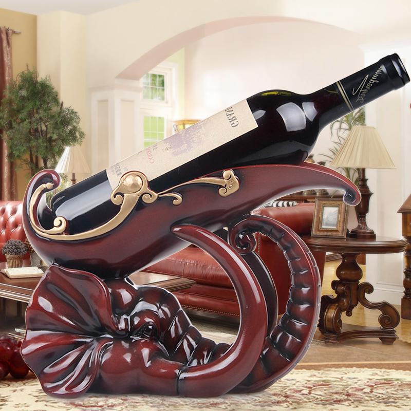 欧式铁艺红酒架时尚简约酒柜葡萄酒托置物架子复古创意三轮车摆件