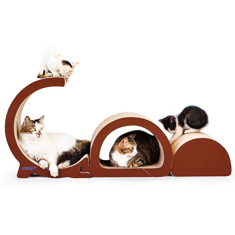 猫咪用品全套猫抓板磨爪器瓦楞纸猫爪板耐磨猫咪磨爪用品猫家爬板