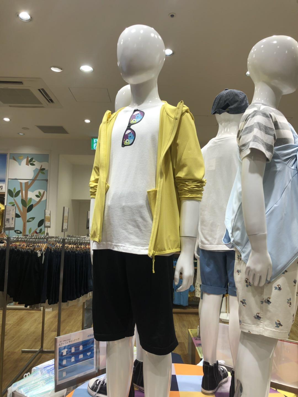 包邮!日本Uniqlo/优衣库儿童防晒衣UV防紫外线超轻透气薄款长袖
