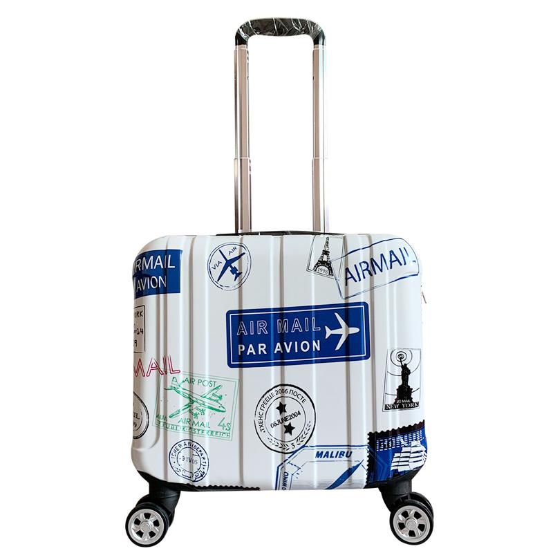 登机箱16寸密码箱小型拉杆箱轻便小号18旅行手提箱子14小行李箱女