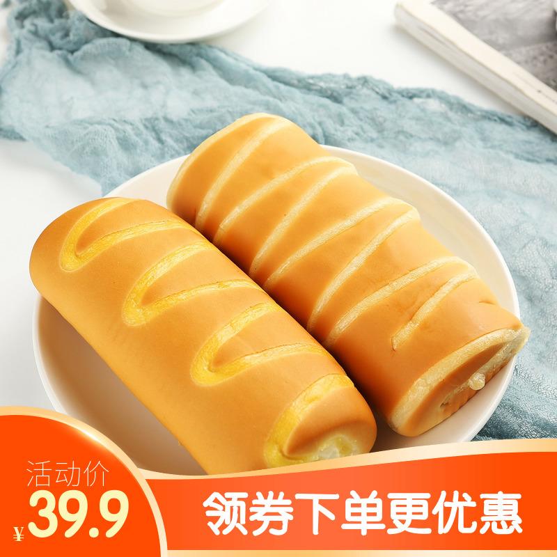 早餐手撕长面包整箱早餐芝士面包早餐酸奶面包休闲零食巧克力糕点