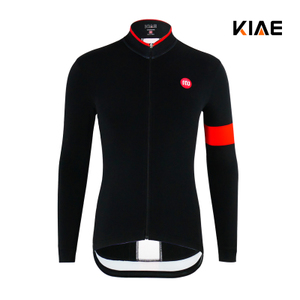 KIAE Jane Men's and Women's Autumn and Winter Fleece Warm Riding Clothing Mountain Road Bicycle Equipment Long Sleeve Top