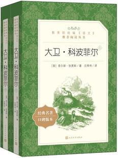 大卫科波菲尔,查尔斯狄更斯;庄绎传 译,人民文学出版社9787020142644正版现货直发