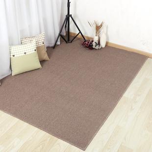 咖啡色拍照地毯满铺整卷家用卧室拼接超大号简约衣服鞋子背景布