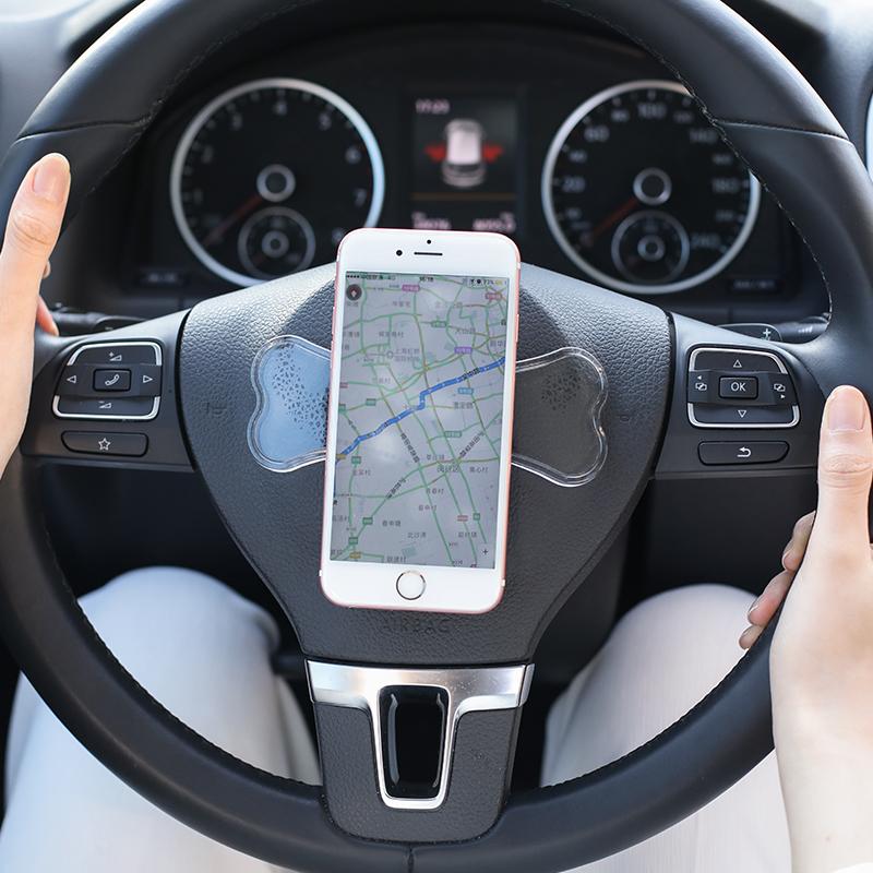 手机魔术贴背贴车上日本车载手机架车用出风口车内通用多功能支架