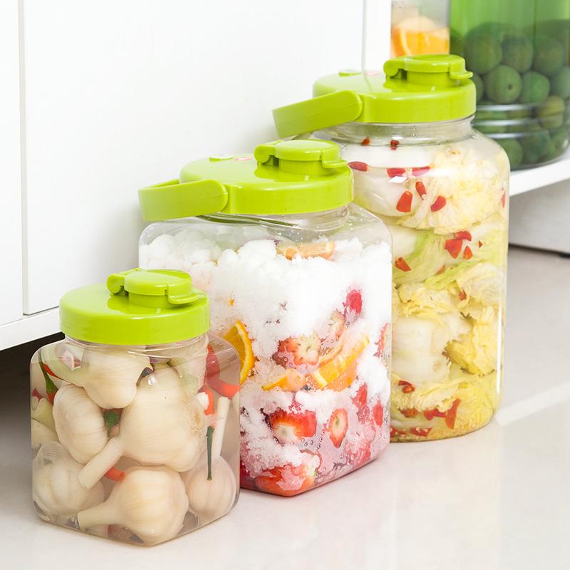 日本进口TAKEYA塑料自动拍排气酵素酿酒桶腌咸菜缸密封罐发酵桶
