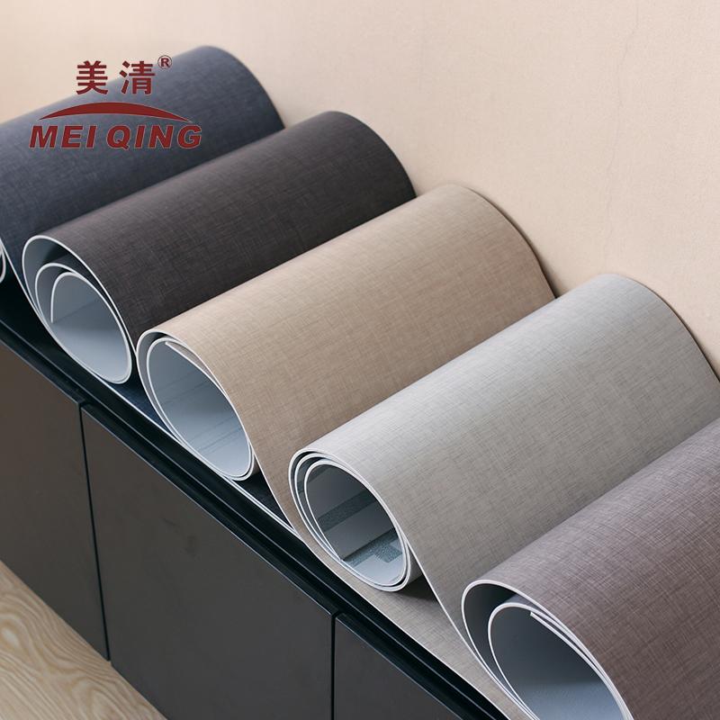 电视柜桌布盖布茶几垫灰蓝色桌布ins纯色餐桌垫
