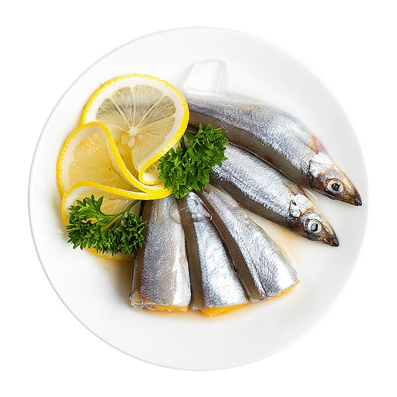 【喵鲜生】加拿大多春鱼1kg 多籽海产品水产 深海鱼