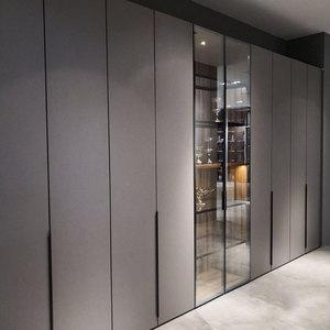 Whole home improvement whole house custom furniture wardrobe sliding door sliding walk-in closet room light luxury modern simplicity