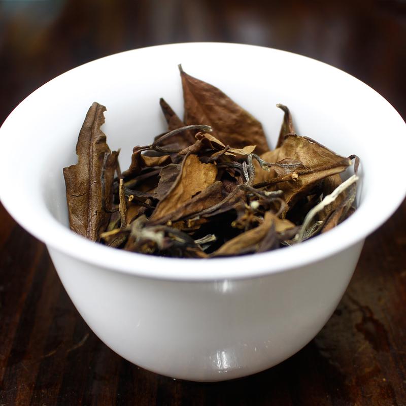 茶叶特级福鼎老白茶散装散茶高山老寿眉正宗四年陈罐装100g仅49元