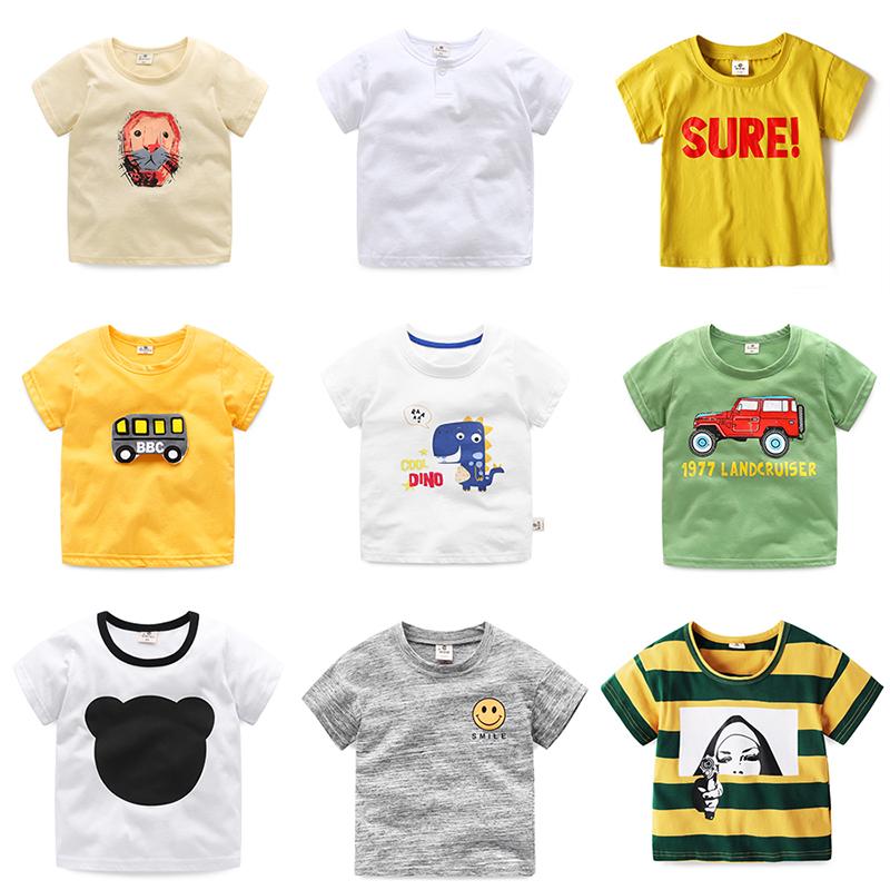 【买一送一,需拍2件】宝宝2019新款儿童夏款韩版短袖t恤上衣