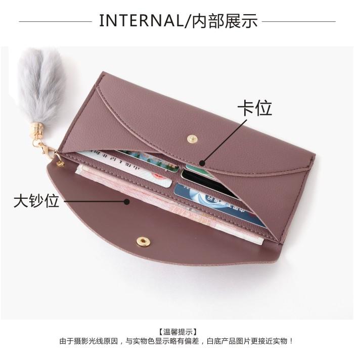 2017新款女士钱包女长款日韩学生简约个性多功能超薄钱夹手拿包包