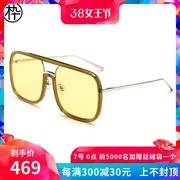 木九十造型方型镜框时尚太阳眼镜2018新款偏光镜司机镜SM1840187