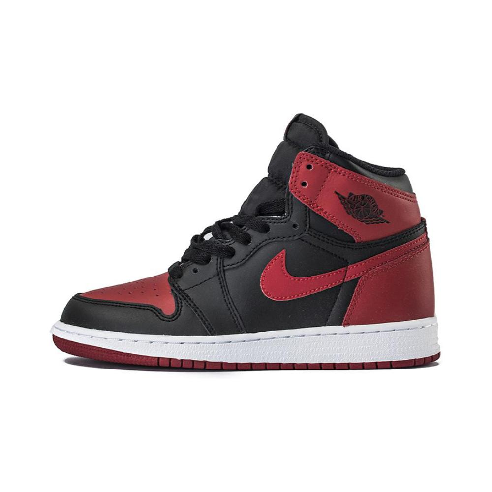 Nike/耐克 Air jordan 1 retro OG Banned GS AJ1黑红禁穿女鞋