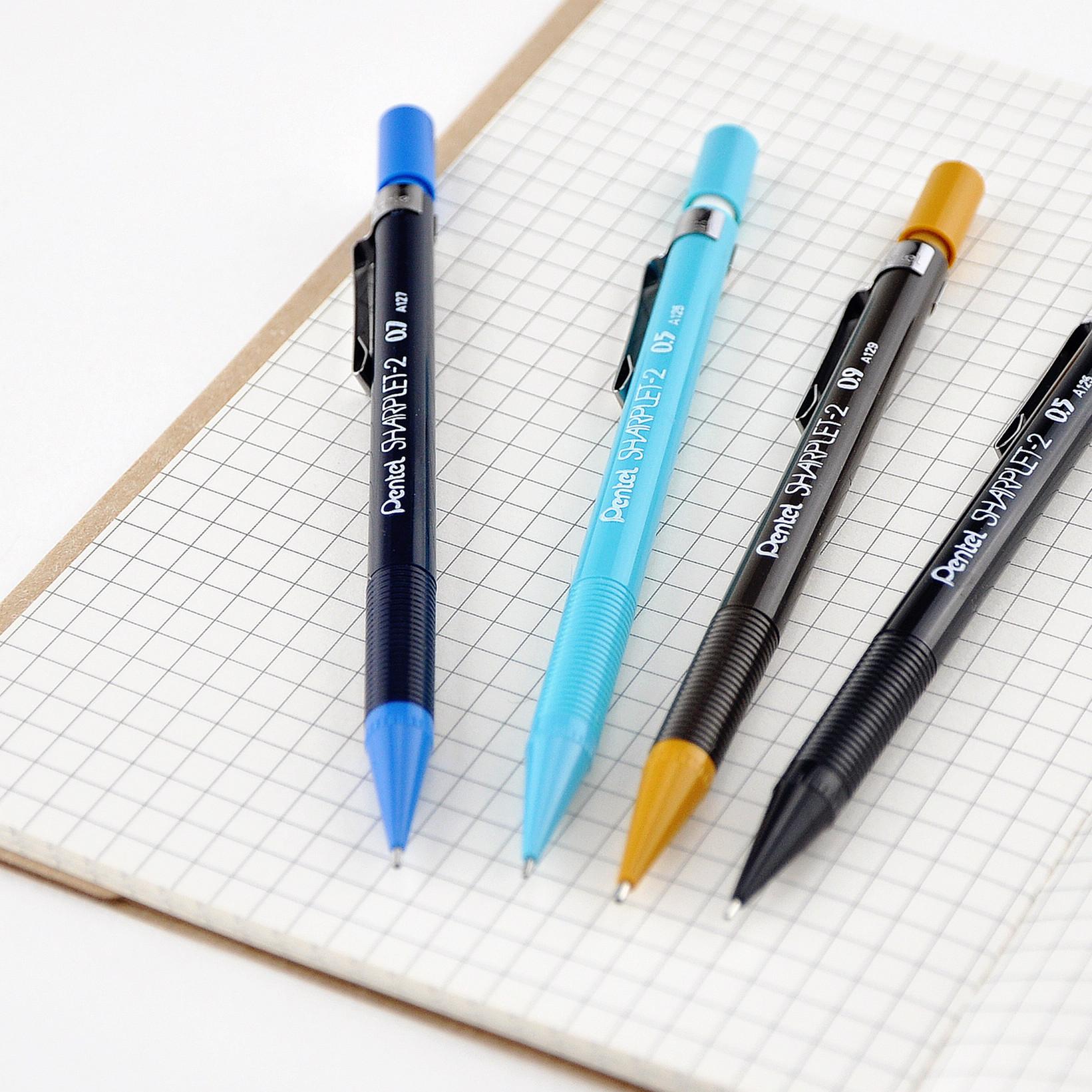 日本Pentel派通|SHARPLET-2|A125|0.5mm|经典自动铅笔/活动铅笔