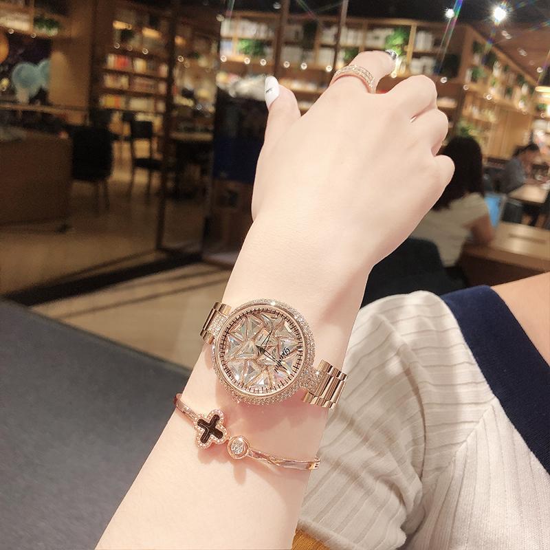 时来运转手表女番茄网红潮表美国小众轻奢品牌腕表女士2021流行款