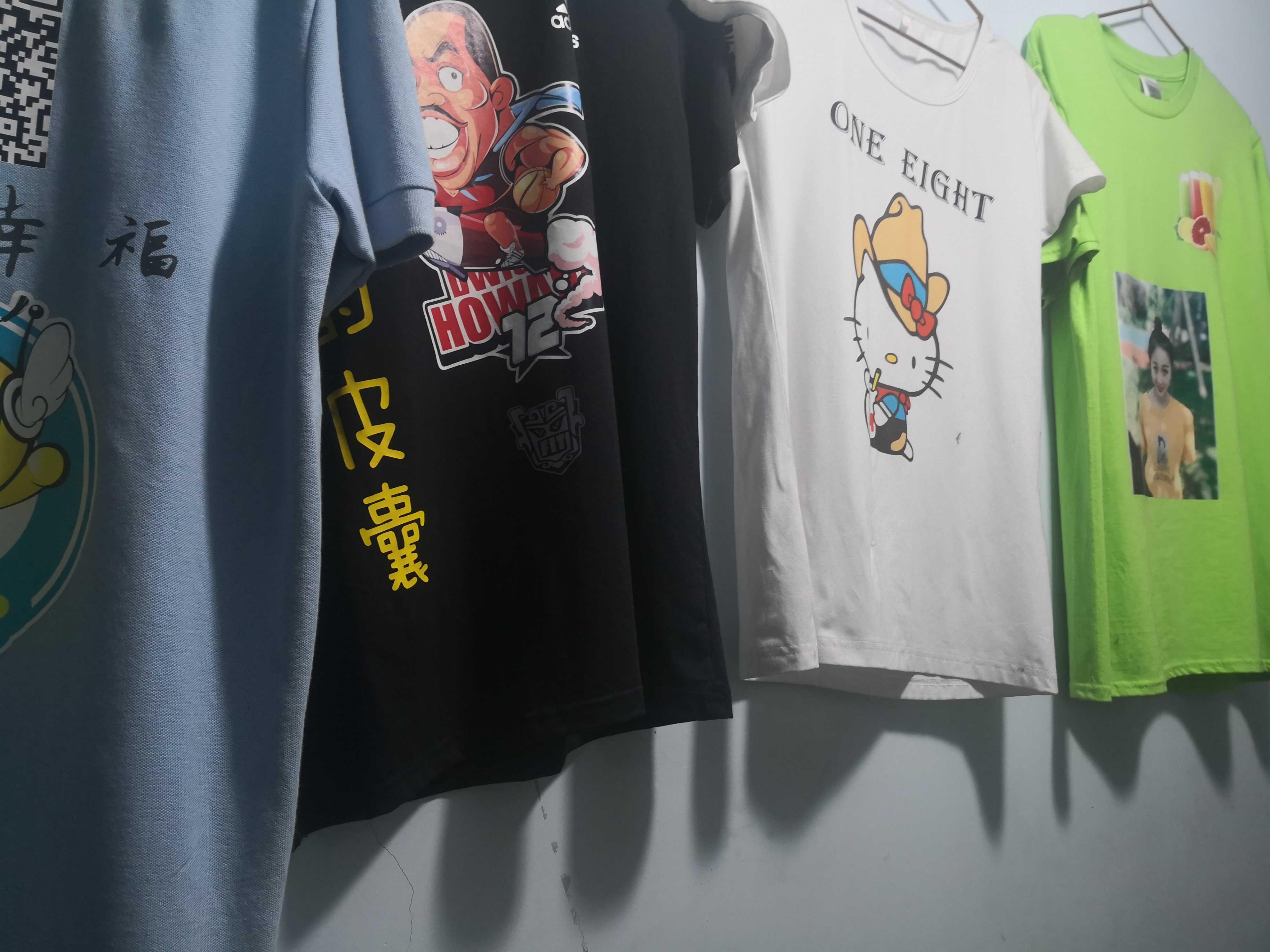 文化衫定制T恤定制 大码衣服定制 个性图案印刷私人订制T恤短袖