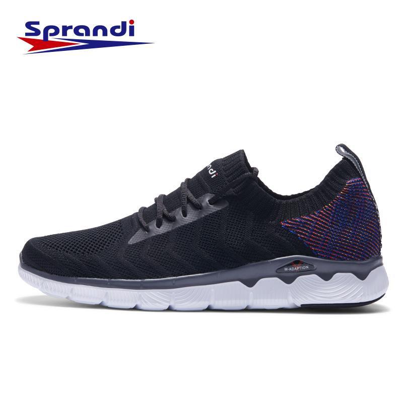 Sprandi斯潘迪男鞋 秋季新款跑步鞋轻便运动鞋 透气休闲鞋 七