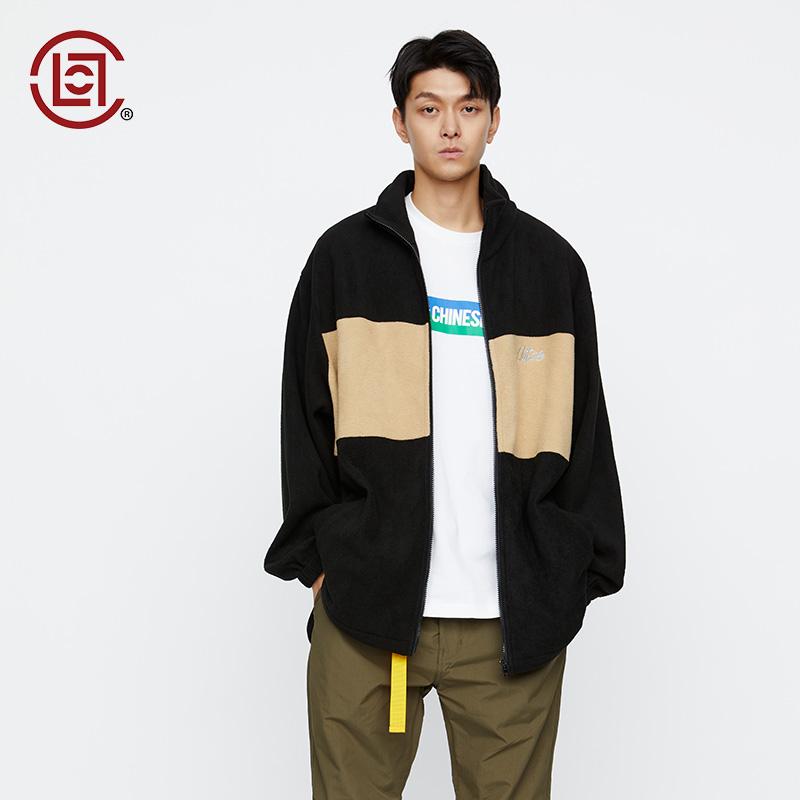 【CLOT CLOTTEE】拼色毛线夹克冬季基础系列绿色陈冠希主理