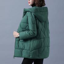 反季棉袄2021年新款冬装加厚羽绒棉服女中长款棉衣女韩版宽松外套