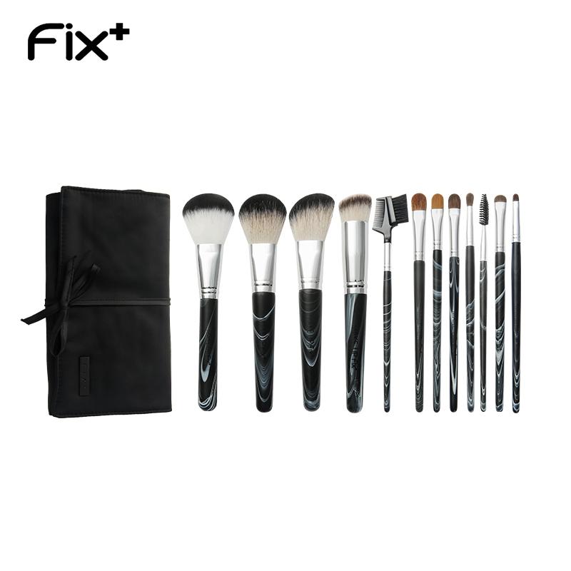 菲丝加芬12支墨染化妆刷化妆套刷粉刷化妆刷初学者全套化妆工具