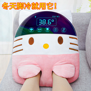 Hand warmer and foot warmer USB foot warmer artifact charging bed to sleep with winter office foot cover non-hand warmer