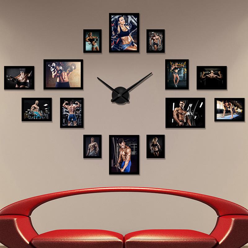 健身房装饰画励志海报肌肉挂画拳击壁画搏击私教工作室工业风墙画_5折图片