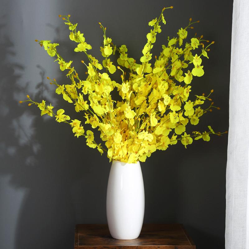现代简约落地客厅创意插花摆件家居装饰品陶瓷干花花瓶花艺摆设